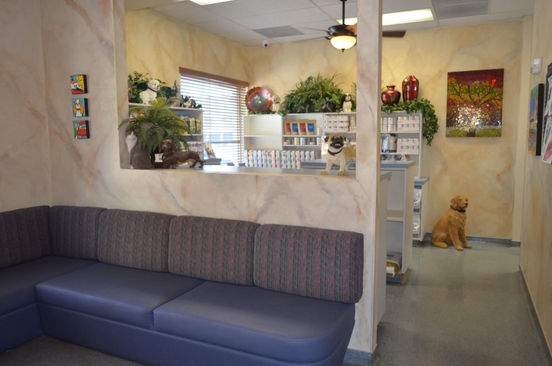 Ahwatukee Animal Care Hospital Reception Area